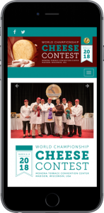 World Championship Cheese Contest Web Development